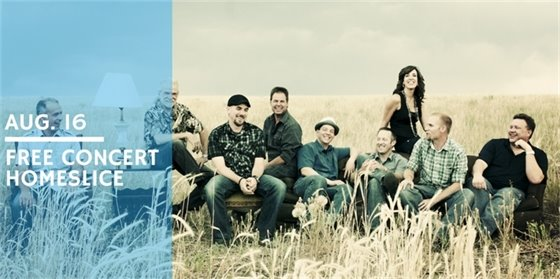Tunes for Trails, Perks for Parks free concert featuring HomeSlice