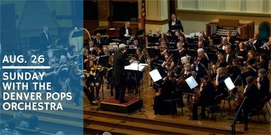 Sunday with the Denver Pops Orchestra - Free Concert at the Amphitheater at Philip S. Miller Park