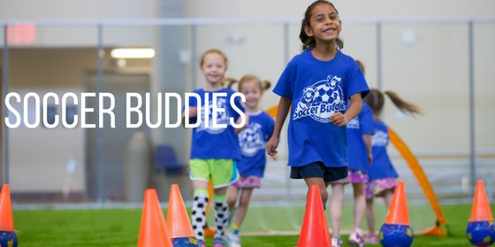 Colorado Soccer Buddies summer camps