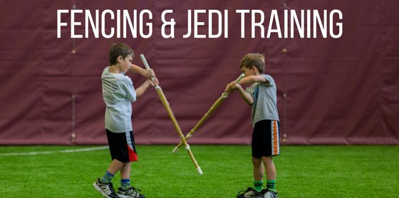 Fencing half day camps info and registration