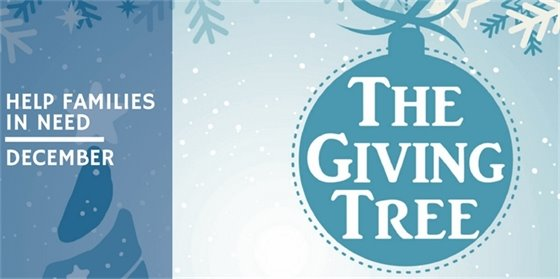 Help Families in Need with the TAG Giving Tree