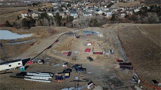 150 feet aerial photo