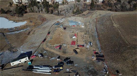 250 feet aerial photo